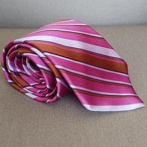 Ted Baker Lavender Brown Multi Color Tie